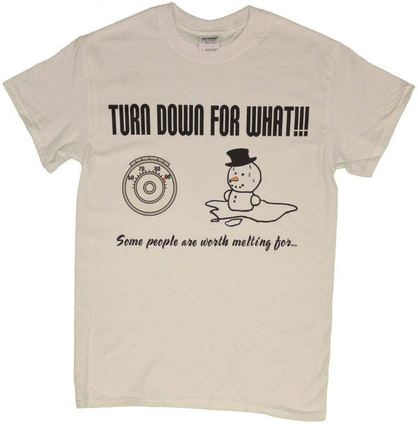 Turn Down For What, Some People Are Worth Melting For Men's T-Shirt