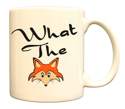 What The Fox Funny Play On Words 11oz Coffee Mug