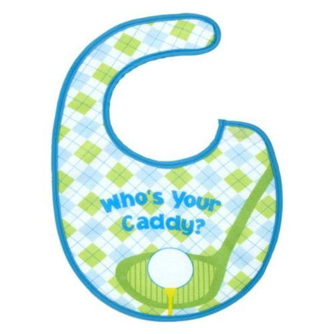 Ganz Golf Baby Bib - Who's Your Caddy
