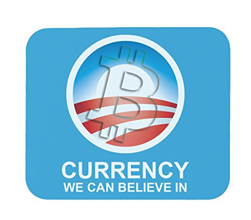 Bitcoin A Currency You Can Believe In Mouse Pad