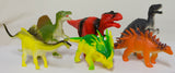6 Pack of 5 to 7 Inch PVC Dinosaur Animal Figurines