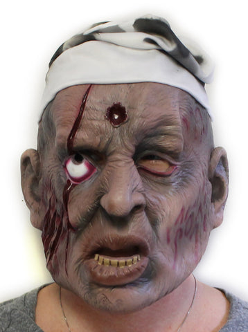 Zombie Hunter Latex Mask