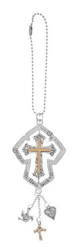 Ganz Cross Car Charm - Have Faith