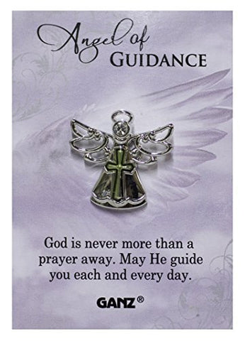 Ganz Angel of Guidance Tac Pin with Story Card