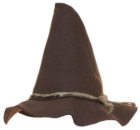 Costume Accessory - Felt Scarecrow Hat w/ Rope Band (Brown)