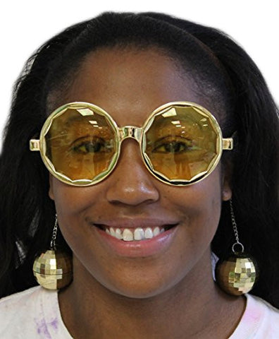 Costume Accessory- Disco Ball Sunglasses (One Size)