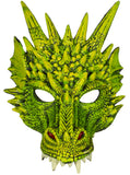 Costume Accessory - Latex Dragon Face Mask with Elastic Strap