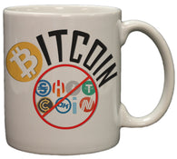 Bitcoin Not Shitcoin Funny Crypto Currency 11 oz Coffee Mug