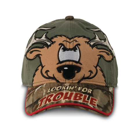 Buck Wear Lookin' For Trouble Toddler's Baseball Hat Cap