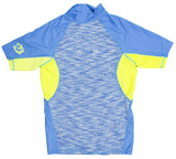 Tribal Surf RGMST Men's Short Sleeve Fast Dry Rash Guard UPF 50+