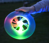 9 Inch Light Up Flying Disc (Choice of Color)