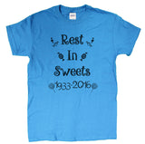 "Men's Gene Wilder Tribute ""Rest In Sweets"" T-Shirt"
