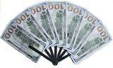 Big Bucks Novelty One Hundred Dollar Bill Personal Hand Fan