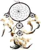 "21"" Long Feather Hanging Dream Catcher"