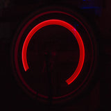 Zupa Wheely Lights LED Motion Activated Bike Wheel Lights Pack of Two - Red