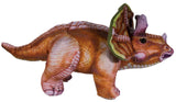 13 Inch Long Dinosaur Plush Toy With 3D Artwork Detail  (Triceratops)