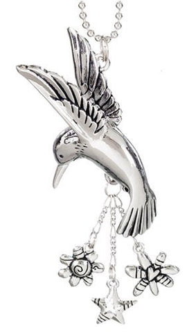 HUMMINGBIRD Car Charm Ornmament with Dangles