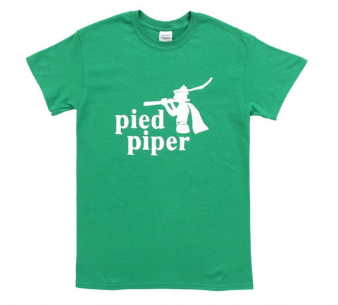 Silicon Valley Pied Piper Adult Green T-Shirt