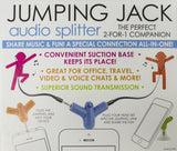 Jumping Jack Audio Splitter - The Perfect 2 for 1 Companion