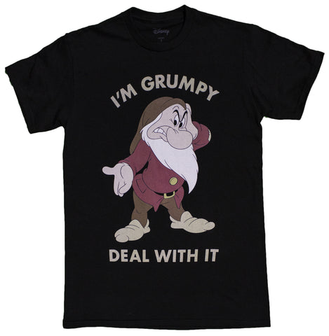 Men's Disney I'm Grumpy Deal With It T-Shirt