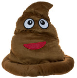 Deluxe Brown Plush Poop Hat