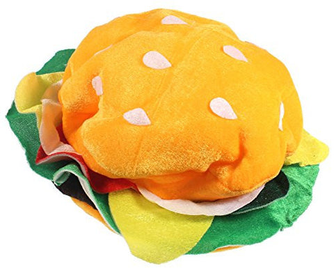 Jacobson Hat Company Men's Adult Velvet Hamburger Hat
