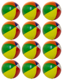 Case Pack Of 288 Pieces Mini Beach Ball 2 Inch Squeezable Stress Balls