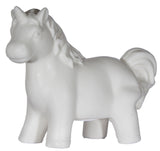 Color Changing Light Up Porcelain Standing Unicorn Figurine