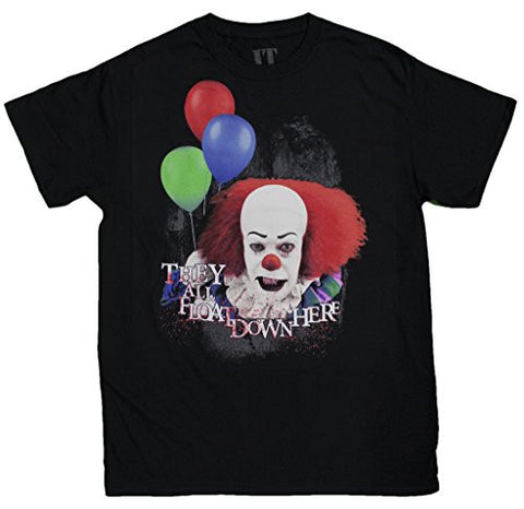 "Men's Pennywise the Clown ""They All Float Down Here"" T-Shirt"