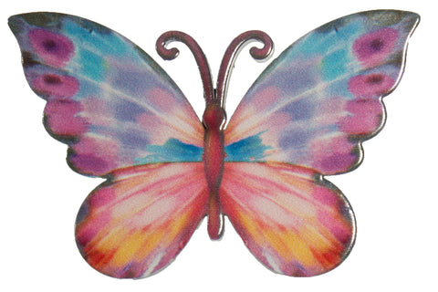 3 Inch Butterfly Iron Screen Door Magnet Screen Saver Decoration