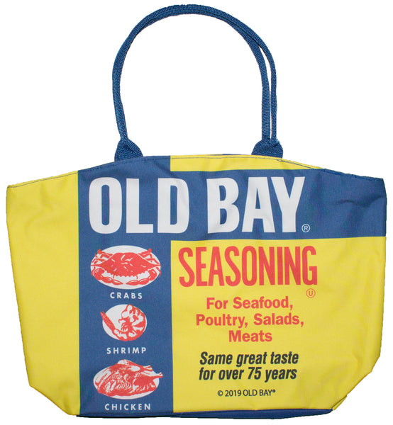 Officially Licensed Old Bay Seafood Seasoning Canvas Tote Bag