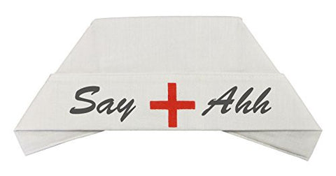 "Costume Accessory ""Say Ahh"" Naughty Nurse Hat"