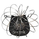 Flow Ring Kinetic Spring Toy with a Portable Carrying Bag