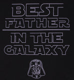 Men's Star Wars Best Father In The Galaxy T-Shirt