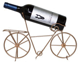 Bicycle Lovers Metal Bicycle Wine Bottle Holder