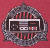 Men's Nintendo Controlled Crest Vintage Style Controller T-Shirt