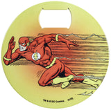 "DC Comics Stainless Steel 3.75"" The Flash Graphic Bottle Opener Coaster"