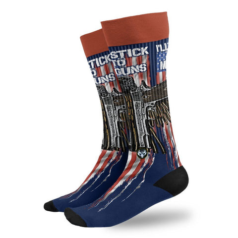 Men's Stick To My Guns Socks