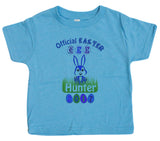 Little Kids 2-4 Unisex Official Easter Egg Hunter 2017 Toddler T-Shirt