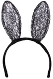 3 Piece Lace Bunny Costume with Headband, Bowtie and Tail!