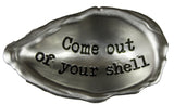 Ganz Seas the Day Shell Inspirational Message Pocket Charm with Story Card