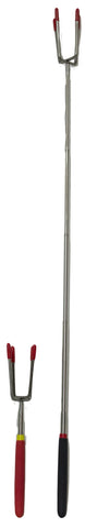 Jumbo Four Prong 29 Inch Telescopic Camping Fork
