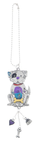 Ganz Car Charm, Colored Dog Er36679