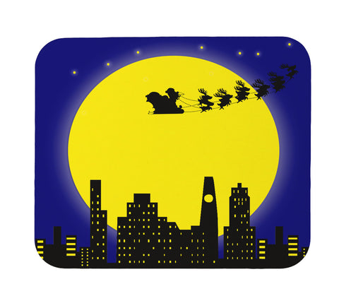 Christmas Night Mouse Pad