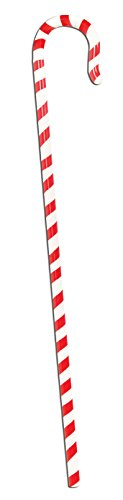 36 Inch Long Candy Cane Walking Stick Adult Costume Accessory