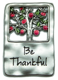 Ganz Be Thankful Thanksgiving Wishes Charm With Story Card!