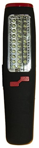 8 Inch 37 LED Work Light with Swivel Hanger and Magnet