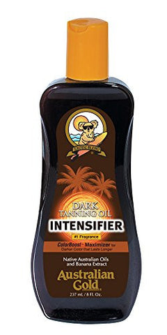 Australian Gold Dark Tanning Intensifier Oil, 8 Ounce