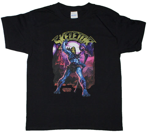 Big Boys Masters Of The Universe Skeletor Youth Size T-Shirt (Youth X-Small (2/4))