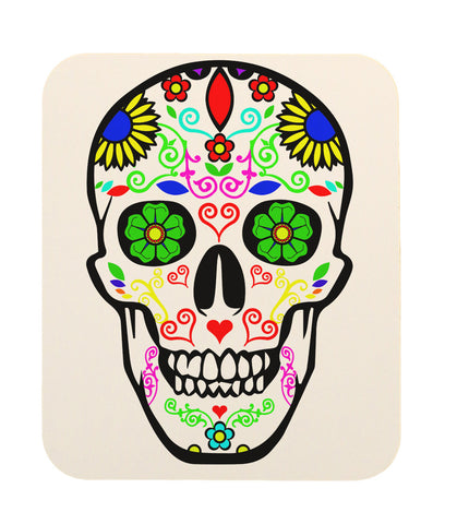 Day Of The Dead Sugar Skull Mouse Pad (Multi)